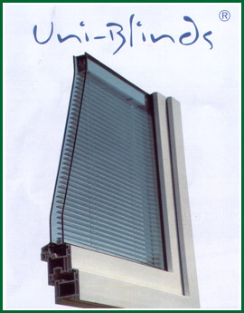 Glazing Unit with Integral Blind